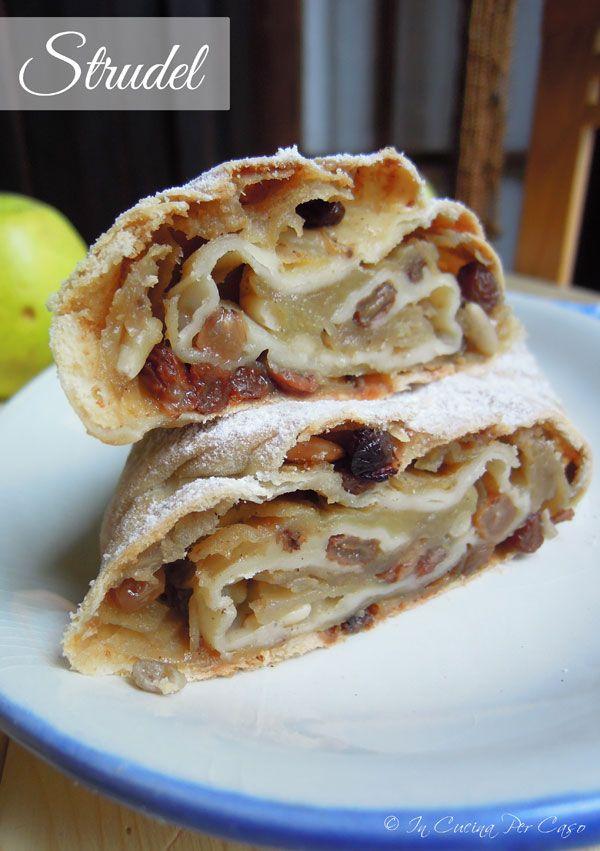Strudel di mele - ricetta