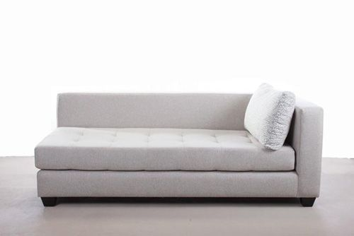 Couch without arm rest on one side living room couch for Sofa with only one arm