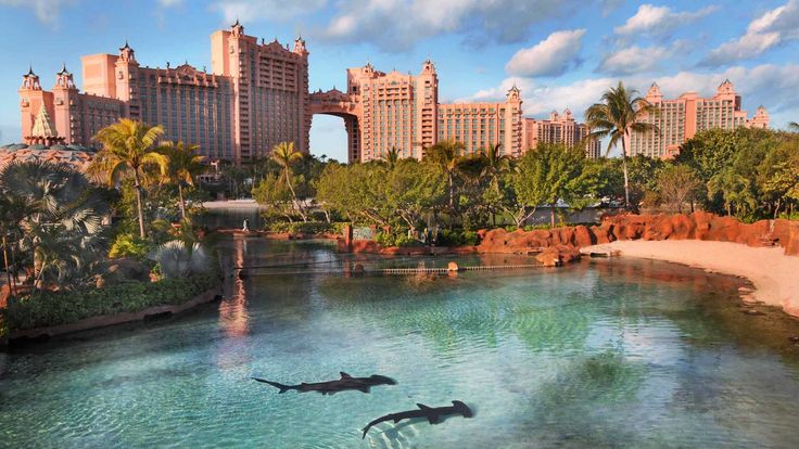 The Atlantis Resort on Paradise Island in the Bahamas is themed after the Lost Continent of Atlantis. The Cove Atlantis is the exclusive adults only resort within the resort.