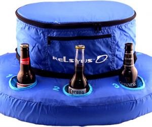 inflatable floating cooler. yup I need this for river tubing $29.00