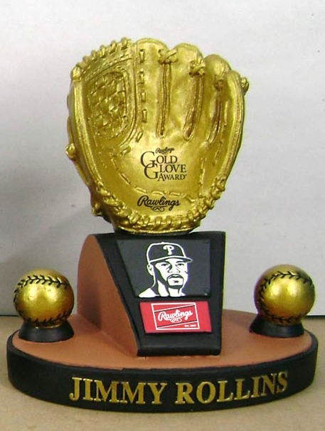 Jimmy Rollins Replica Gold Glove free to fans 14 and under!