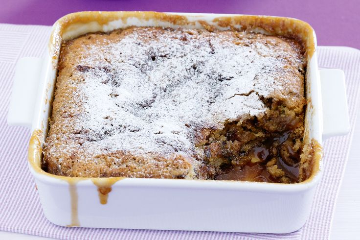 Try this scrumptious sticky date self-saucing pudding.