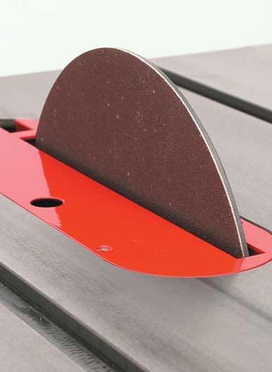 Table saw accessories - If you don't own a Disc sander you can buy a disc for your table saw.: