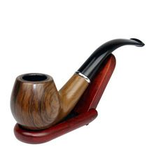 Classic Wood Grain Resin Pipe Chimney Filter Long Smoking Pipes Tobacco Pipe Cigar Gifts Narguile Weed Grinder Smoke Mouthpiece(China (Mainland))