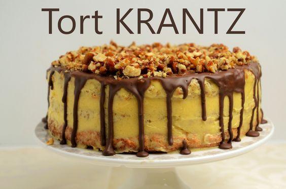 Tort krantz sau prajitura krantz este o reteta simpla dar de mare efect si este perfecta pentru Sarbatorile de Iarna care se apropie!