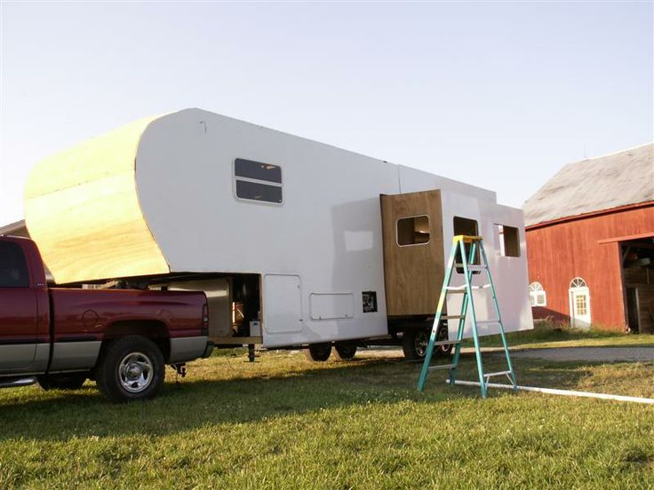 More Siding Homemade Rv Fifthwheel Camper Pinterest Rv