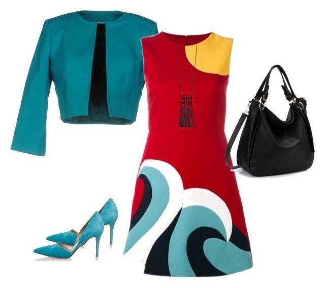Untitled #10 by ritecz-gabriella on Polyvore featuring polyvore, fashion, style, RED Valentino, Flavio Castellani, Gianvito Rossi, Mixit and clothing