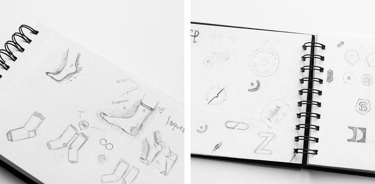 Swing Estudio .    #graphicdesign #pattern, #colors, #fashion, #socks, #snapease #swingestudio #design #fashiondesign #branddesign #brand #logo #sketch