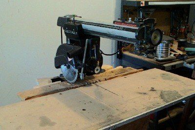 Setting Up a Radial Arm Saw