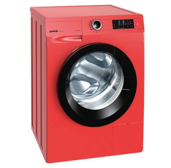 Gorenje, Freestanding Washing Machine W8543LR - Fiery Red