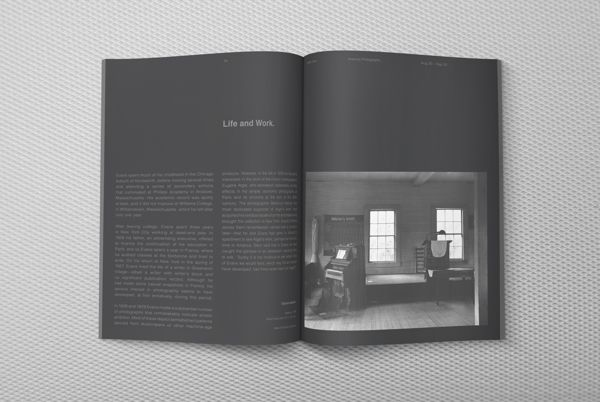 Walker Evans: American Photographs Exhibition by TAWEESAK TOMONGKOL, via Behance