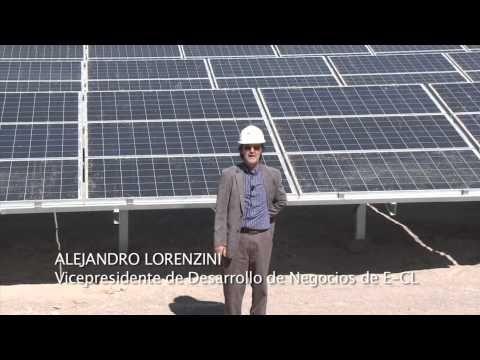 Planta Solar Fotovolatica El Aguila I de E-CL