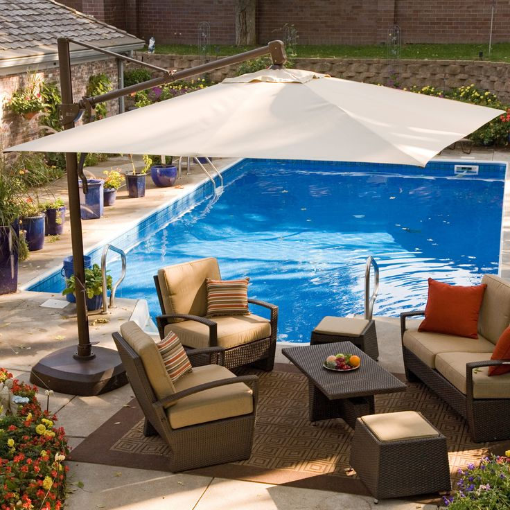 Best 25 Pool Umbrellas Ideas On Pinterest Deck Umbrella