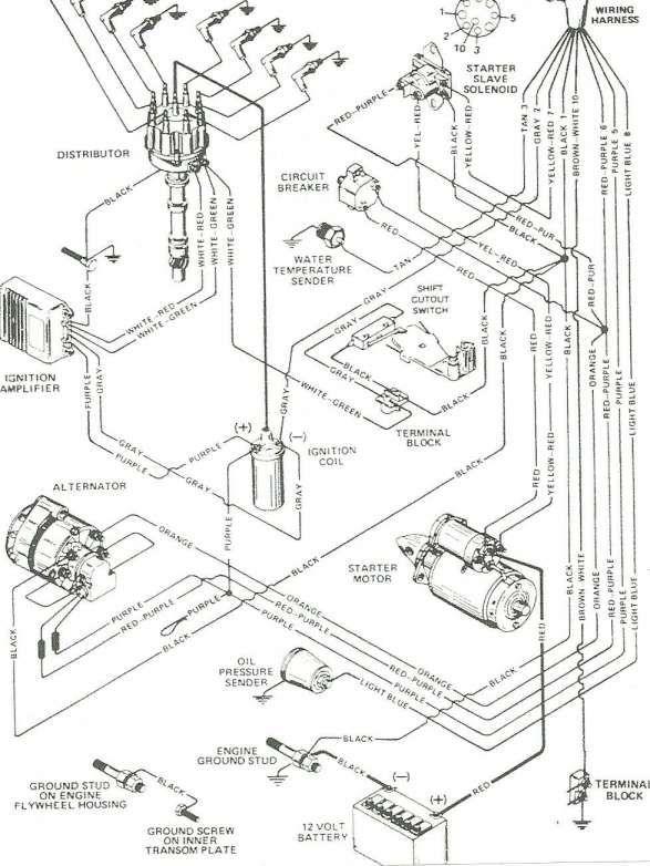 Mercruiser 140 Engine Wiring Diagram And Mercruiser Wiring Diagram Wiring Diagram Diagram Best Electrical Diagram Diagram Engineering