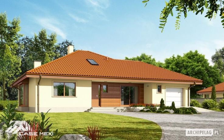 Mexi #Homes offers you over 1100 of #house plans, for free. The meaning of the #bungalow varies from across the world, but mostly in Europe stands for an one floored residential house. It is suitable for either for a small or a big family. Stop dreaming and have one of your own!
