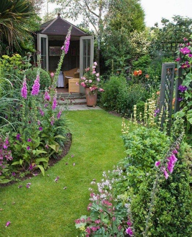 14 Amazing Small Cottage Garden Design Ideas For Backyard