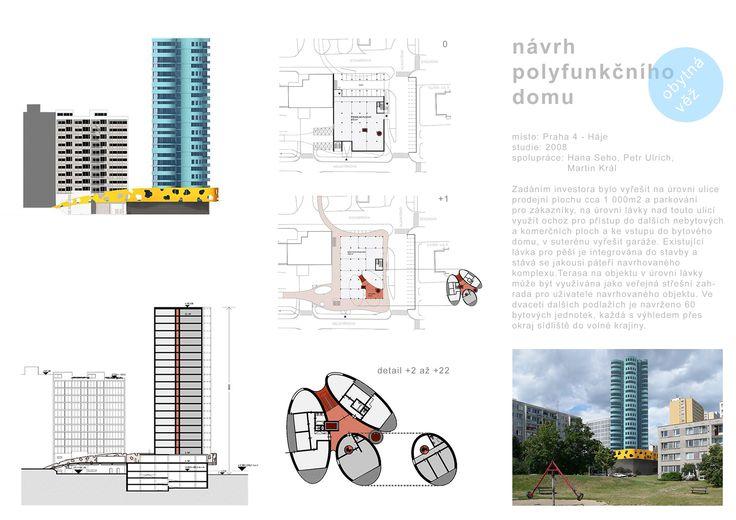 návrh polyfunkčního domu
