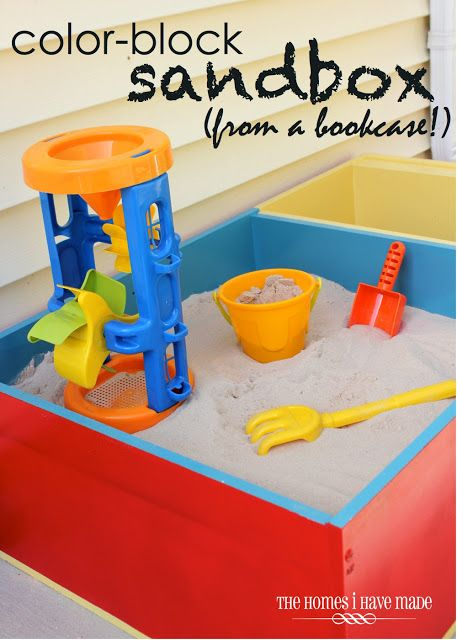 Color-Block Sandbox {Wayfair DIY Challenge!}