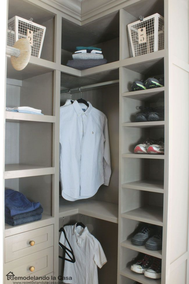 17 Best Ideas About Small Closet Makeovers On Pinterest
