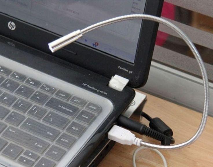 Flexible LED USB Reading Lighting Light Lamp For PC Notebook Laptop Computer