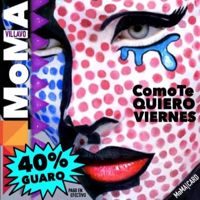 Hoy! Comienza el MoMA ColomBianWeeKenD [ViErNeS] con el 40% de Dcto en  Agte Llanero. ..y un 10% adicional si haces la reservacion! #ComoTeQuieroViernes