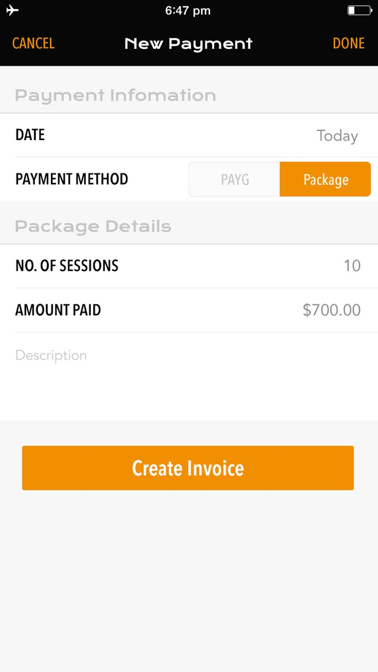 With AFT, invoicing clients is so much easier with our inbuilt Invoice system.   No more paper-trails, its all done within the app!