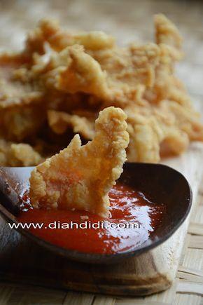 Diah Didi's Kitchen: Kulit Ayam Goreng Krispi
