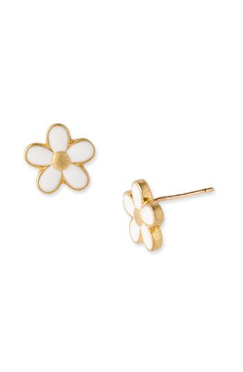MARC BY MARC JACOBS 'Daisy Chain' Small Stud Earrings...