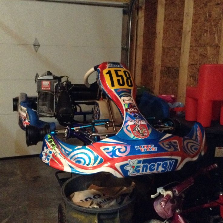On the Stand Mini Max Rotax: Energy Corse Kart