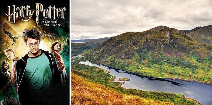 "TRAVEL ""Harry Potter"", wioska Glencoe, Szkocja."