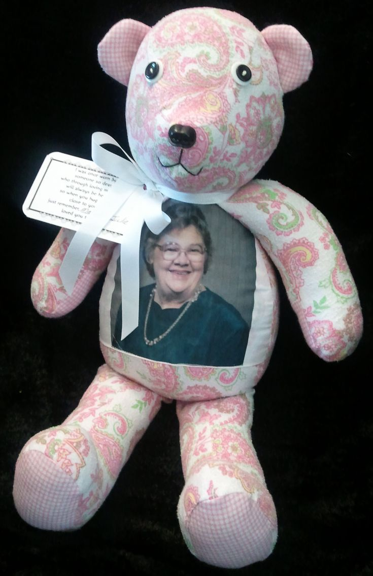 80 Best Memory Bears Images On Pinterest Fabric Dolls