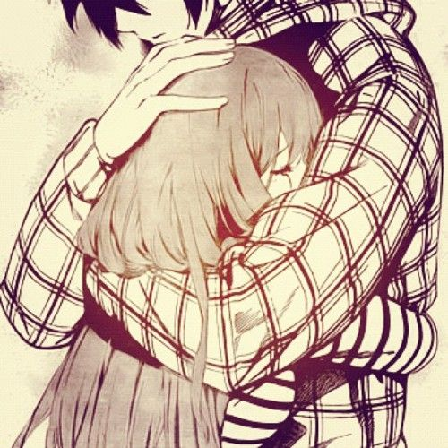 Gallery For > Anime Couple Cuddling Tumblr