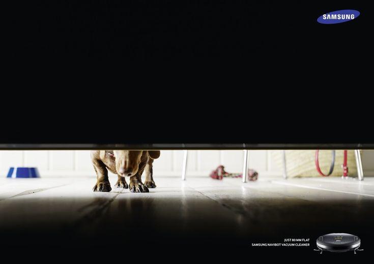 Adeevee - Samsung Navibot Vacuum Cleaner: Just 80mm flat