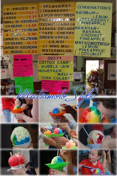 Hawaii - Matsumoto Shaved Ice! travel