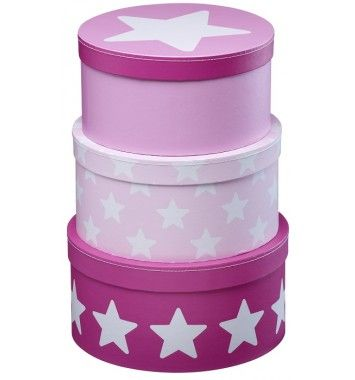 Kids Concept Pappbox Star Rosa