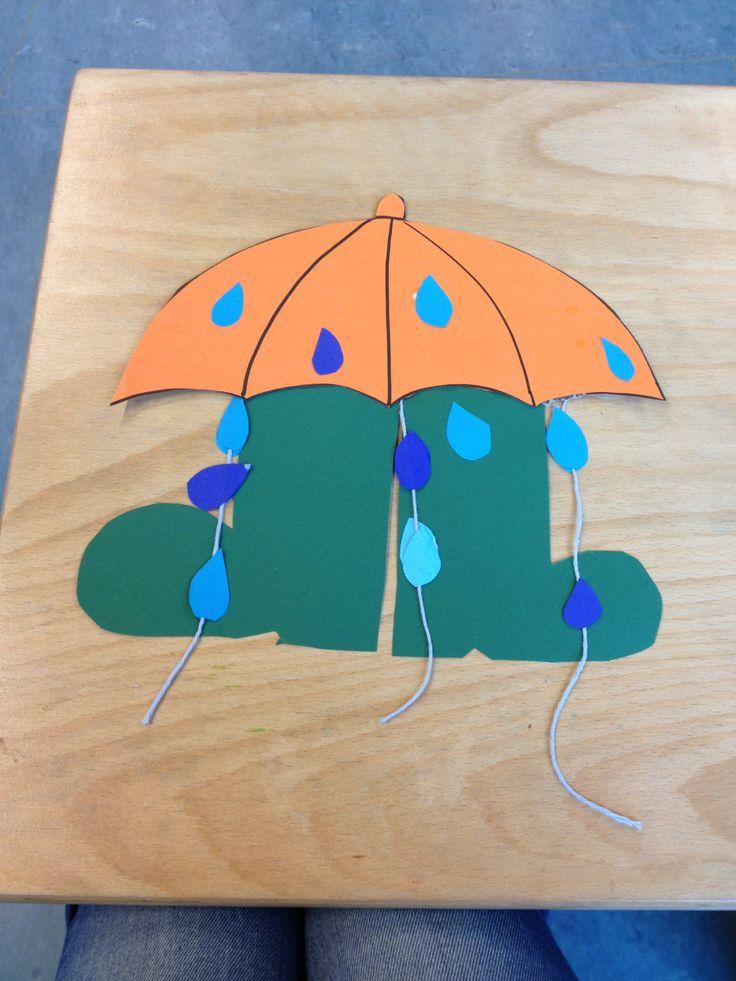 Regen Laarsjes Herfst Knutselen Pinterest