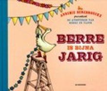 Berre is bijna jarig. Berre is bijna jarig. Fleur wil haar vriend verrassen met een groot feest. Ze heeft het zo druk met alle voorbereidingen dat ze een cadeau vergeet. Maar Berre heeft het mooiste cadeau al gehad! Oblong prentenboek met vrolijk gekleurde illustraties. Vanaf ca. 4 jaar.
