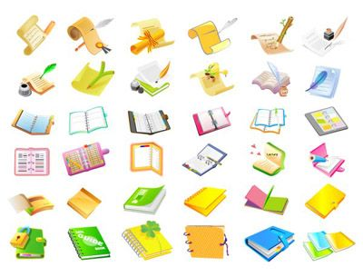 Writing the book vector material