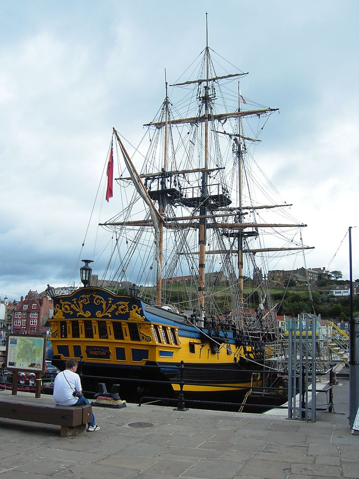 Grand Turk Sailing Ship - Whitby - North Yorkshire - England