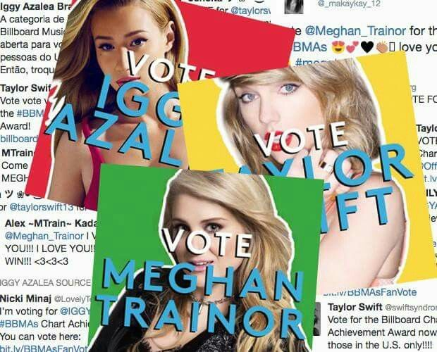 SWIFTIES, KEEP VOTING TAYLOR FOR THE BILLBOARD CHART ACHIEVEMENT AWARD AT THE 2015 BILLBOARD MUSIC AWARDS!!!!!!!!!! This is the ONLY FAN VOTED category and we MUST send our girl home with this honor!!!!!! VOTE VOTE VOTE!!!!!!