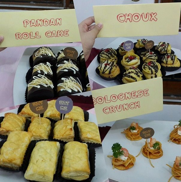 sweet corner -  also selling : almond crispy, macaroon, panacotta, birthday cake, wedding cake, etc  Just only for the State of Indonesia. For the area of surabaya, free shipping. At the price is affordable and the quality is number one.  CP :  sheryn 7cea958a / 083830744721