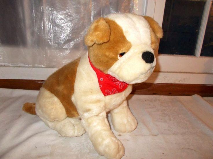 """Kelly Toy Bulldog Puppy Plush Stuffed Animal 17"""" Kellytoy #Kellytoy"""