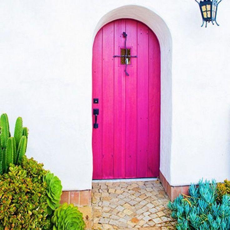 magenta feng shui front door color Feng shui front door