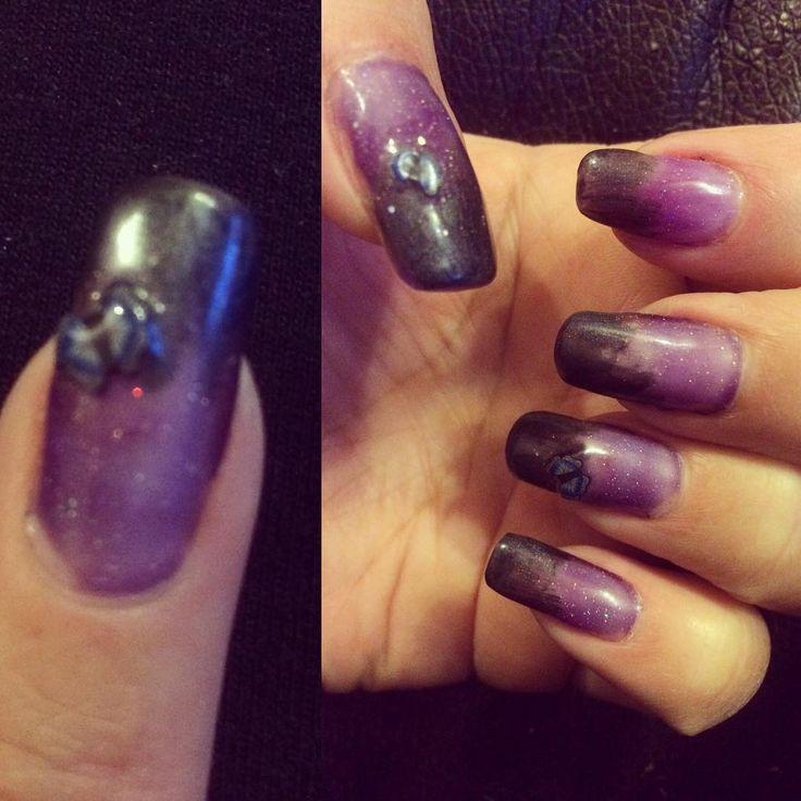 Uñas Acrigel con diseño degradado en esmalte gel UV y aplicaciónes #nails #nailsgel #nailsinstagram #nailsinpiration #javianabeauty #uñasacrilicas #uñasdecoradas #uñaslindas #uñas #instagramchile #valparaíso