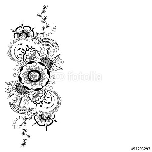 Mehndi Henna Hand Greeting Cards : Best orar images on pinterest coloring pages drawings
