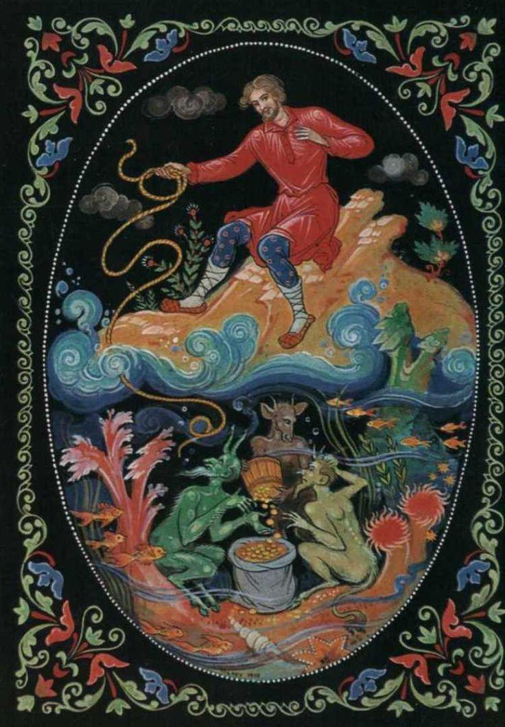 Открытки русские писатели в иллюстрациях художников палеха, картинки днем