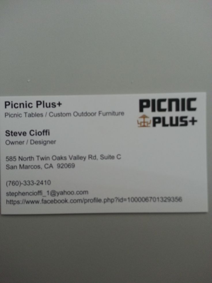 You Can See More On My Facebook Page Spelled: Picnic Plus  Customoutdoorfurniture. Outdoor FurniturePicnics
