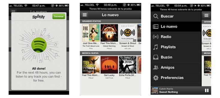 Spotify, un servicio ideal para quienes se la pasan escuchando música todo el tiempo y en todos lados.