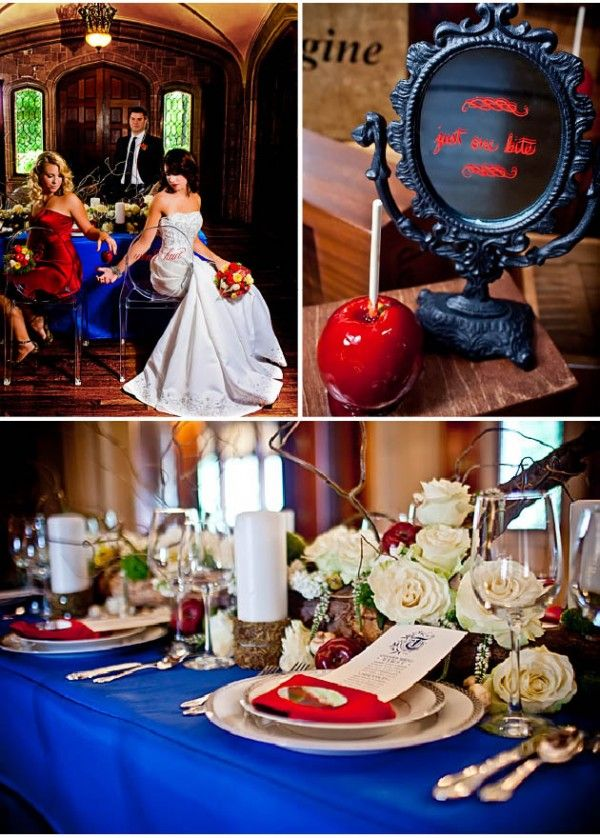 Best snow white wedding theme images on pinterest