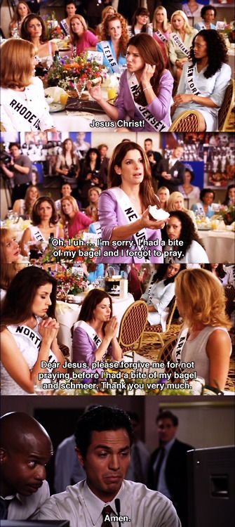 Jesus Christ! ~ Miss Congeniality (2000) ~ Movie Quotes #amusementphile